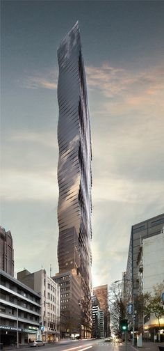 Tower Melbourne, 150 Queen Street, by Elenberg Fraser :: 69 floors, height 226m [Futuristic Architecture: http://futuristicnews.com/category/future-architecture/]