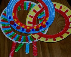African necklace craft for kids: