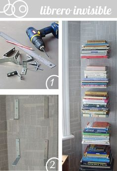 Librero invisible
