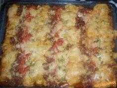 Zapekané mleté mäso so zemiakmi Lasagna, Ethnic Recipes, Food, Essen, Meals, Yemek, Lasagne, Eten