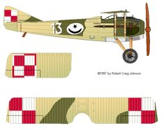 Spad VII Polish air force