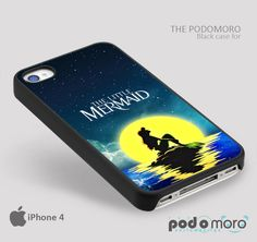 The Little Mermaid for iPhone 4/4S, iPhone 5/5S, iPhone 5c, iPhone 6, iPhone 6 Plus, iPod 4, iPod 5, Samsung Galaxy S3, Galaxy S4, Galaxy S5, Galaxy S6, Samsung Galaxy Note 3, Galaxy Note 4, Phone Case