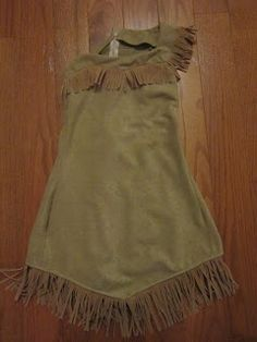 Gonna Need More Glue: Pocahontas costume