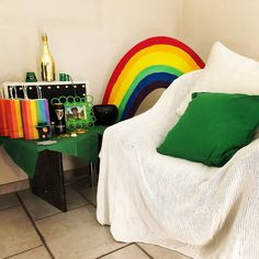 As soon as my birthday is in the books, it's time to prep for St. Patrick's Day, my favorite holiday! Rainbow Fruit Skewers, Chocolate Gold Coins, Teen Friends, Gallery Of Modern Art, Favorite Holiday, Rainbow Fruit Kabobs