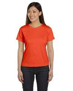 LAT Ladies' Combed Ringspun Jersey T-Shirt 3580