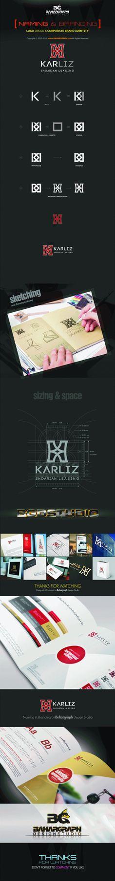 Karliz naming and Branding Web Design Studio, Corporate Identity Design, Branding, Names, Map, Brand Management, Location Map, Maps, Identity Branding