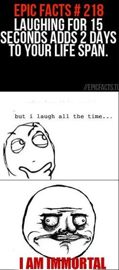 good thing i laugh at everything