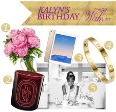 It's Kalyn's birthday! Here's a look at what's on her wishlist for her birthday this year. Will she get everything that she wanted? We'll See! Don't forget to wish Kalyn Happy Birthday on Facebook, Twitter, and Instagram today!