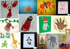 Impressão de Mãos e Pés