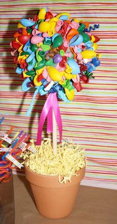 Birthday topiaries...oh my!