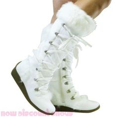 white knee high boots with fur | White Women's Flat Boots - Rabbit Fur Suede Tall Knee-High -... | Shop ...