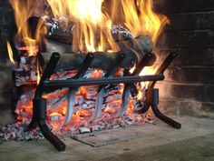 Wall of Fire grates increase heat output and overall fireplace efficiency while eliminating fireplace smoke.