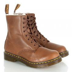 Dr Martens Women's Polynesia Tan Lace Up Boot