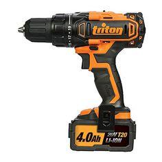 Triton T20 Cordless Drill Driver 20V T20DD – 104544