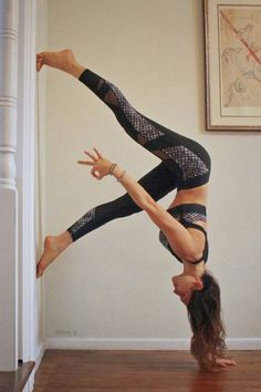 The coolest ways you can use a wall to get deeper into your yoga practice, and have a little fun.