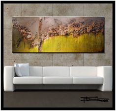 Abstract Modern Contemporary Canvas Painting Ready to Hang ELOISExxx Modern Contemporary, Canvas Ideas, Painting, Beautiful, Home Decor, Art, House, Ebay, Abstract