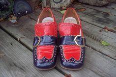 Vintage 60s MOD Italian Leather Shoes Square Toe SPECTATOR Pumps Size 6 6 1/2. $32.00, via Etsy.