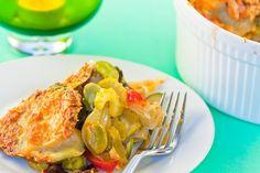 Potato and Summer Vegetable Casserole