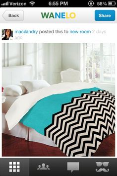 Chevron bed
