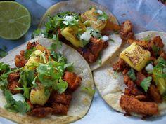 Recetas de Cocina : Tacos al Pastor.