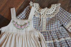 Little Girl Dresses, Little Girls, Girls Dresses, Look Girl, Baby Wearing, Simple Dresses, Clothing Ideas, Dress Making, Art Dolls
