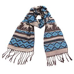 Blue Horse Pashmina at The Maverick Western Wear