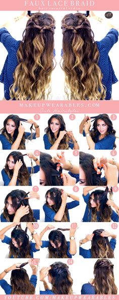 5-Minute Easy Spring Hairstyles | Fake a Lace Headband Braid
