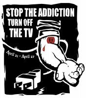 Adbusters: Stop the addiction turn off the tv