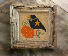 Fantastic Snap Shots Needlepoint patterns halloween Tips Primitive Crow Cross Stitch Pattern Halloween Needlepoint Needlepoint Patterns, Counted Cross Stitch Patterns, Cross Stitch Designs, Cross Stitch Embroidery, Embroidery Patterns, Bargello Patterns, Needlepoint Canvases, Paper Embroidery, Learn Embroidery