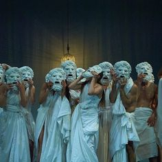 'Mount Olympus, To glorify the cult of the Tragedy' : Jan Fabre' s 24 hour groundbreaking performance now in Roma at Teatro Argentina. #JanFabre #MountOlympus #theatre #performance #24h #Italy #GalerieTemplon @FabreJan @Troubleyn