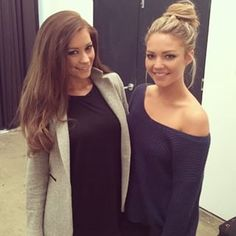 When she was hanging out with former Bachelor buddy Lisa, and rocking the messy bun. | 19 Times Sam Frost Was Goddamn Flawless On Instagram