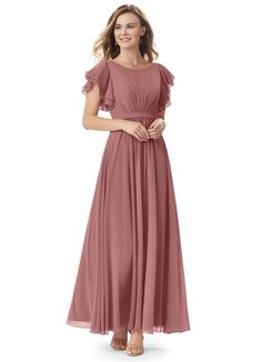 Shop for a large variety of desert rose bridesmaid dresses at Azazie. With bridesmaid dresses from Azazie, you are sure to find a desert rose bridesmaid dress for the perfect look for your wedding. Rose Bridesmaid Dresses, Prom Dresses, Wedding Dresses, Burgundy Bridesmaid, Fall Dresses, Bridesmaids, Modest Formal Dresses, Formal Outfits, White Outfits