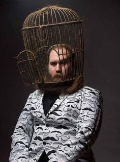 JUST WHEN YOU THOUGHT YOU'D SEEN IT ALL! BIRDCAGE BEARD! - The Beard Struggle