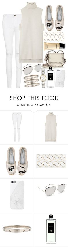 """""""Untitled #400"""" by mari-mmp ❤ liked on Polyvore featuring ADAM, Chiara Ferragni, ASOS, Native Union, Linda Farrow Luxe, Serge Lutens and Burberry"""