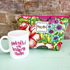 """#ValereRene Large Insulated Cosmetic Bag: Your favorite cosmetic bag now comes with a wipe-able liner!  It's the same size as the large bag in the travel trio set, but now lined and sold separately.  $40.00 each.  8"""" H x 12"""" L x 4"""" W    #ShopBellis #ShopBellisBoutique #BellisBoutique #GardenParty #Floral #MakeupBag"""