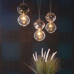 Borosilicate glass pendant lamp APOLLO - Cattelan Italia