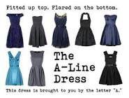 The A-line dress