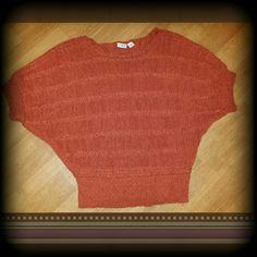 Cato xl sweater top Burnt orange color  Sweater like top Cato Tops