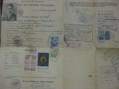 "nansen - the so called ""Nansen Passport"""