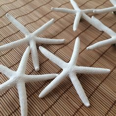Starfish Boutonnières! Add a beachy touch to your groom and groomsmen!