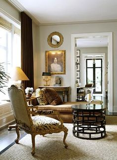 Eclectic and lovely. Great details.