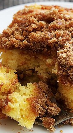 Cake Mix Sour Cream Coffee Cake. While from scratch is my mantra, sometimes I just want super easy and yummy when I'm pressed for time. This looks like something for that time.