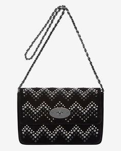 Mulberry Zigzag Lily Shoulder Heavy Suede... sigh