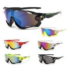 A Estrenar Ciclismo Gafas Deporte Ciclismo Gafas gafas de Sol Hombres Mujeres Bike Mtb de La Bicicleta Gafas de Sol Máscaras