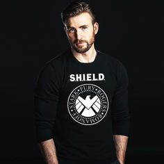 Chris Evans, Marvel Avengers, Mens Tops, T Shirt, Fan, Pretty, Fashion, Supreme T Shirt, Moda