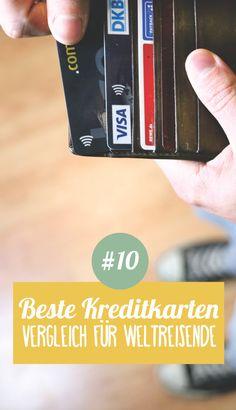 Weltreise planen Schritt 10 ➸ Die besten Kreditkarten für Reisende im Vergleich!