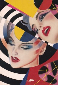 'Models' by Pater Sato Retro Kunst, Retro Art, 1980s Art, Pop Art, Cultura Pop, Dieselpunk, Art Inspo, Street Art, Illustration Art