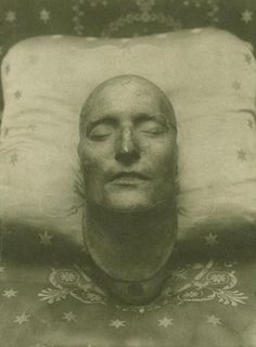 Death mask of Napoleon, 1821