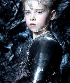 Photo by Emma Tunbridge - The suit of armour by  Fredrick Harrison #kidsfashion #childrensfashion