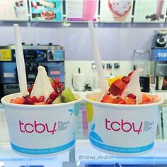 WIN FREE TCBY for an entire month! Post a picture of your favorite TCBY treat for a chance to win FREE Yogurt for one month - Please include #tcbytreat - Good luck!